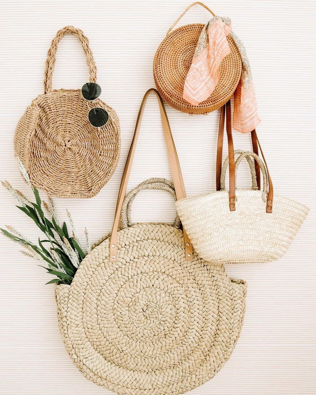 Trend Alert: Straw Bags